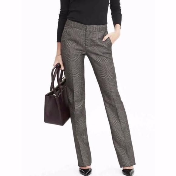 Banana Republic Factory Pants - banana republic | gray martin fit wool dress pants